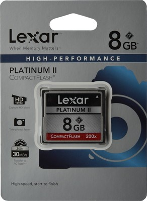 Lexar Compact Flash 8 GB