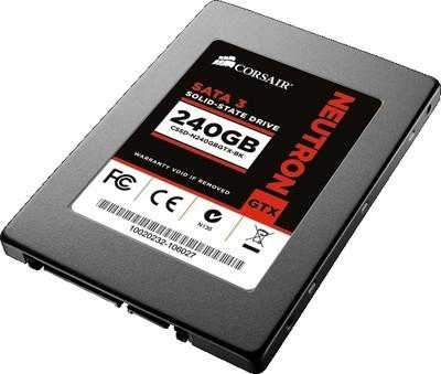 Corsair Neutron GTX Series 240 GB SSD Internal Hard Drive (CSSD-N240GBGTXB-BK)