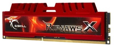 G.Skill RipjawsX DDR3 4 GB (1 x 4 GB) PC DRAM (F3-12800CL9S-4GBXL)