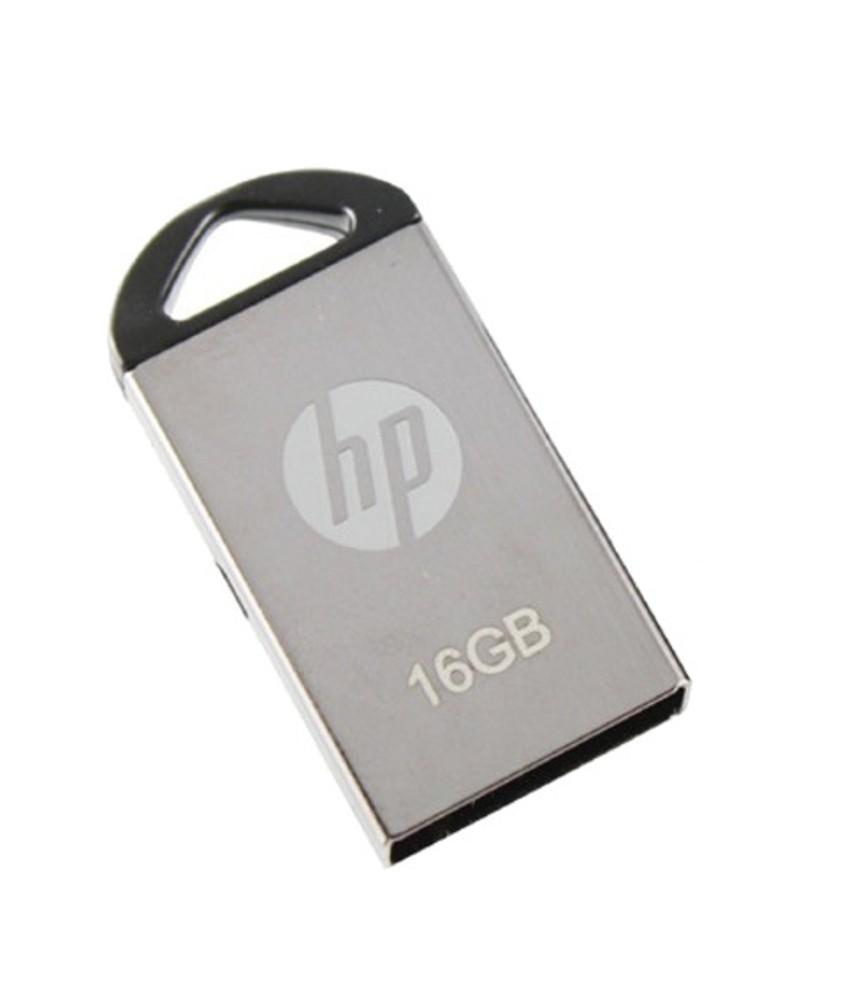 HP V 221 W 16 GB PEN DRIVE (METALLIC SILVER)