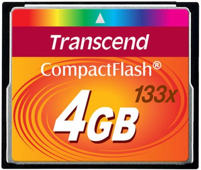 Transcend Compact Flash 4 GB 133X