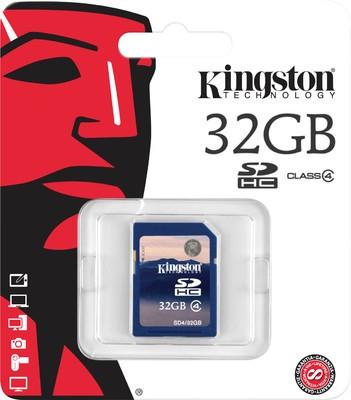 Kingston SDHC 32 GB Class 4