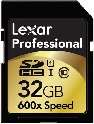 Lexar SDHC 32 GB Class 10