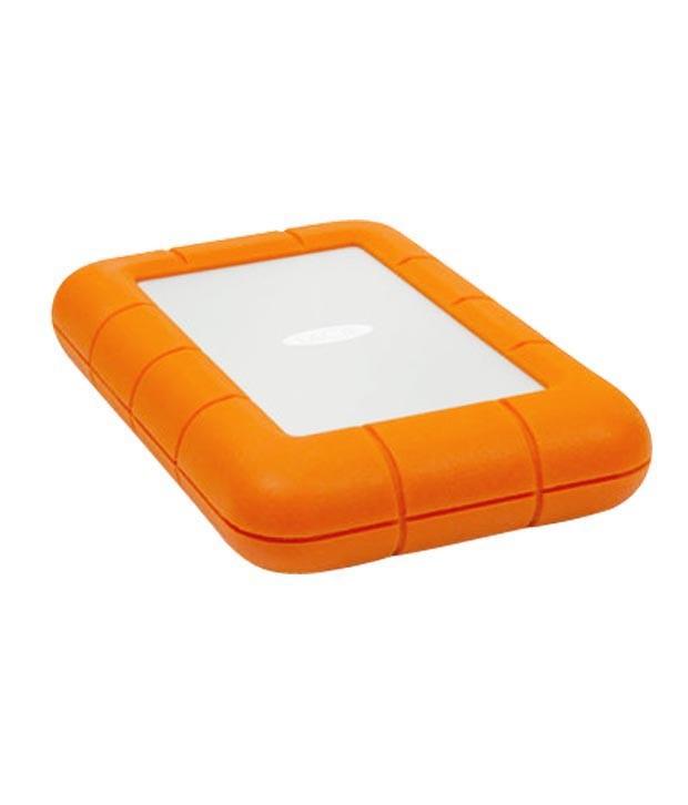 Lacie 1 TB External Hard Disk Orange
