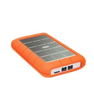 Lacie 301984 1 TB External Hard Disk  Orange