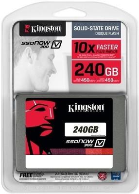 Kingston V300 240 GB Desktop Internal Hard Drive (SSDNOW SV300S37A)