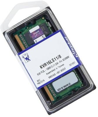 Kingston Value Ram Low Voltage Series DDR3 8 GB Laptop (KVR16LS11/8)