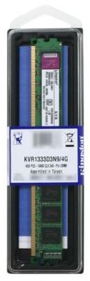 Kingston ValueRAM DDR3 4 GB PC DRAM (KVR13N9S8/4-SP)