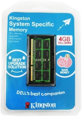 Kingston DDR3 4 GB (1 x 4 GB) Dell Laptop RAM (KTD-L3C/4GFR)