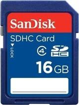 SANDISK SDHC 16 GB CLASS 4