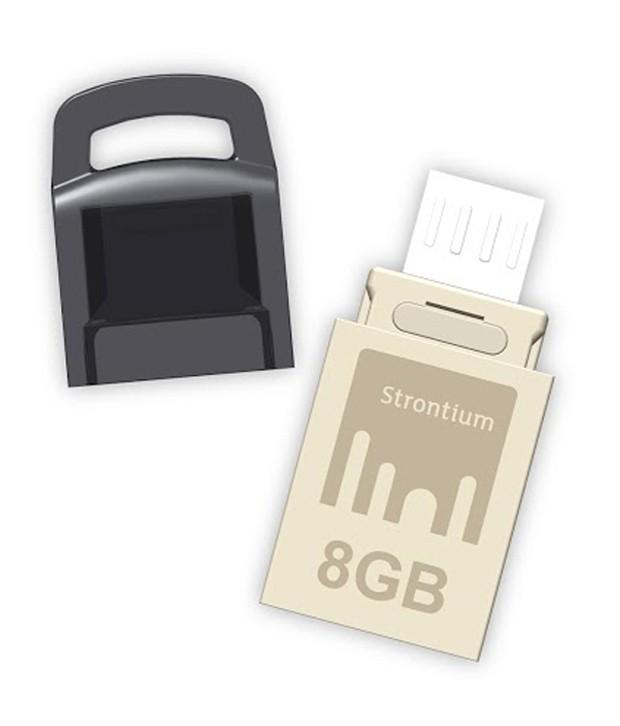Strontium 8GB OTG Nitro USB 2.0 Pen Drive