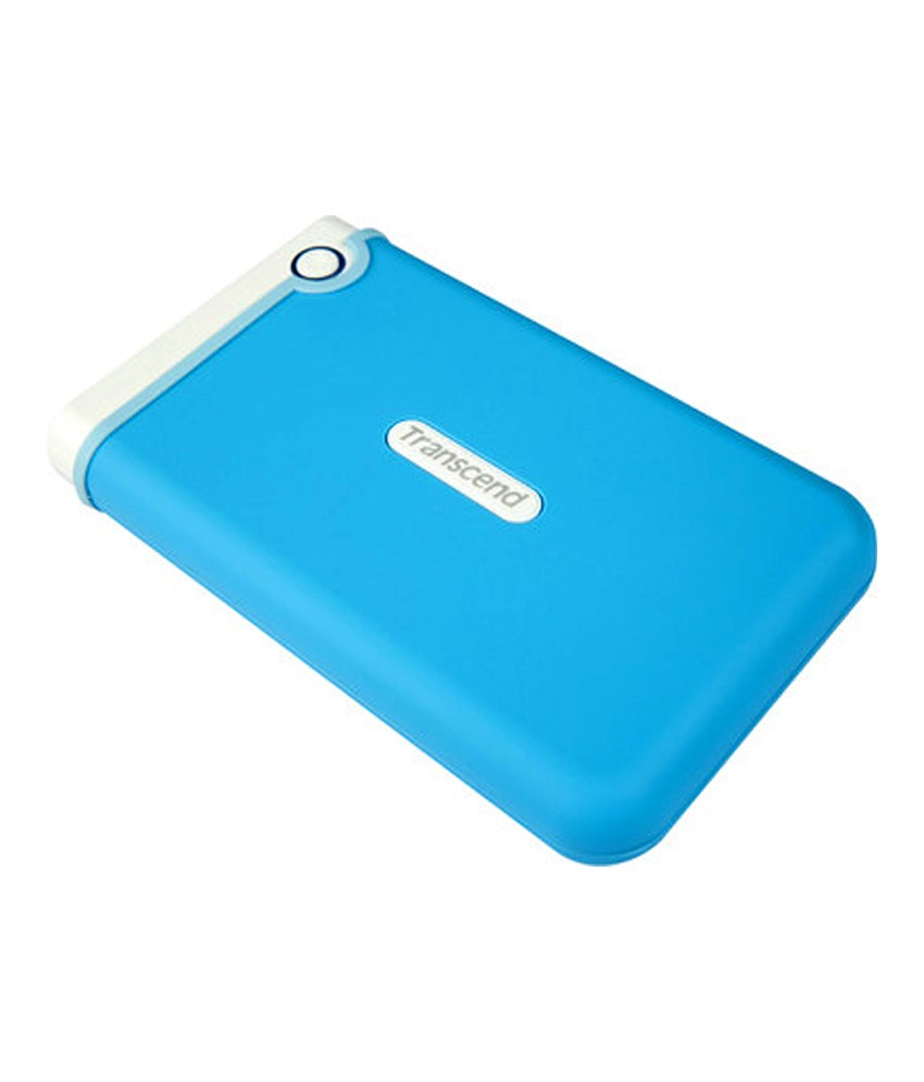 Transcend StoreJet 25M3B 6.35 cm (2.5) 1 TB Auto-Backup Drive (Light Blue)