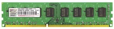 Transcend DDR3-1333/PC3-10600 DDR3 2 GB PC DRAM (JM1333KLN-2G)