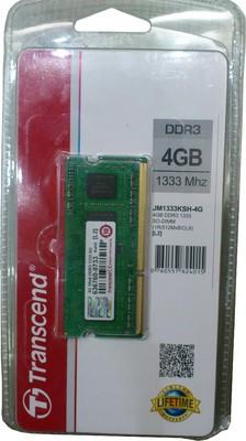 Transcend JetRam DDR3 4 GB Laptop DRAM (JM1333KSH-4G)