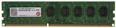 Transcend JetRam DDR3 4 GB PC DRAM (JM1600KLN-4G)