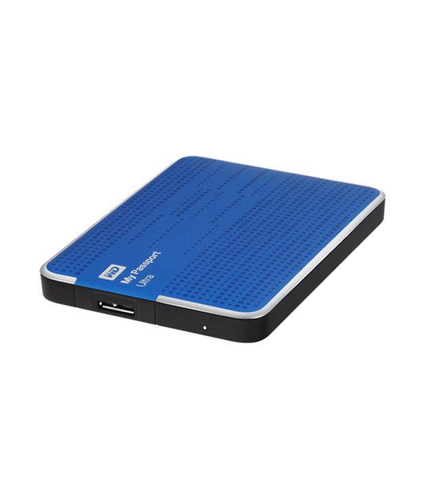 WD My Passport Ultra 1TB Portable External Hard Drive (Blue)