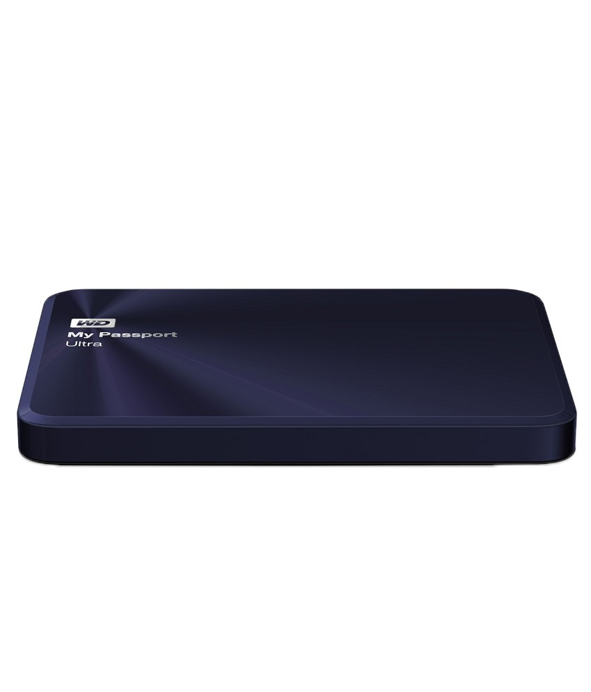 WD My Passport Ultra Metal Edition 1TB Hard Disk (Blue)