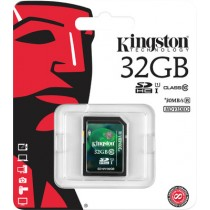 Kingston Digital 32 GB SDHC Class 10 Flash Card