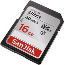 SANDISK SDHC 16 GB CLASS 10