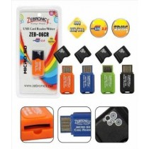Zebronics ZEB-06CR(Orange) Micro SD/TF Card Reader