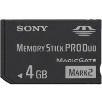 SONY PRO DUO MARK2 MS-MT4G (4 GB) MEMORY CARD