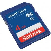 SANDISK SDHC 4 GB CLASS 4