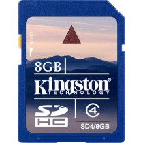 Kingston SDHC 8 GB Class 4