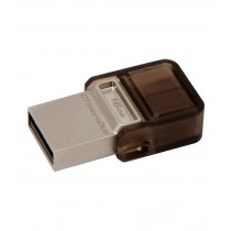 KINGSTON DATA TRAVELER MICRODUO 16 GB 2-IN-1 PEN DRIVE