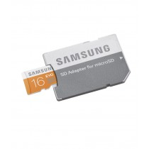Samsung 16GB MicroSDHC EVO Class 10 (With Adapter)