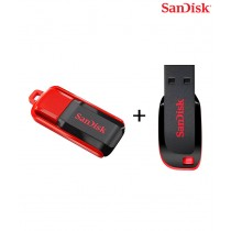 SanDisk Cruzer Blade USB Flash Drive 4GB+SanDisk Cruzer Switch USB Flash Drive 4GB