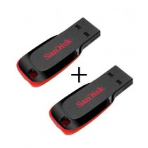 SANDISK CRUZER BLADE USB FLASH DRIVE 8GB (COMBO OF 2)