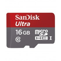 SanDisk SDSDQUAN-016G-G4A 16GB UHS-I 48MB/s Class 10 Ultra Micro SDHC Card