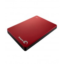Seagate 1TB Backup Plus Slim External Hard Disk (Red)