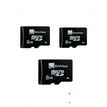 Strontium 8GB MicroSD + 8GB MicroSD + 8GB MicroSD
