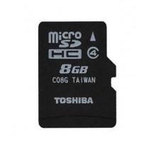 Toshiba 8 GB Micro sd card (combo of 2)