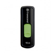 Transcend JetFlash 500 16 GB Pen Drive (Green)